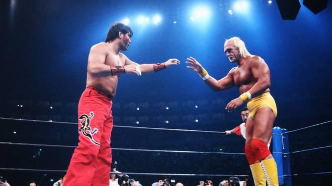 Hulk Hogan traf 1993 bei NJPW auf Japan-Idol The Great Muta