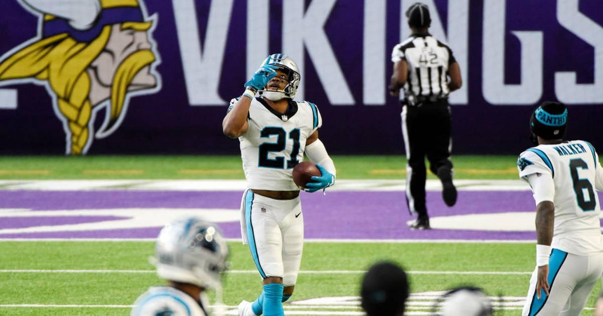 NFL: Jeremy Chinn von den Panthers mit zwei Touchdowns in 10 Sekunden