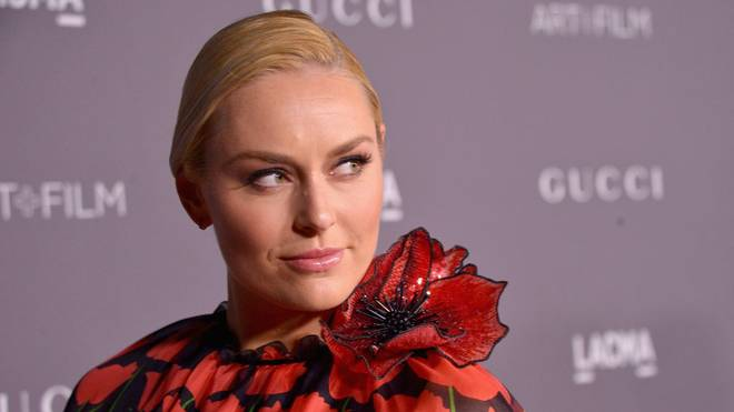 LOS ANGELES, CA - NOVEMBER 04: Lindsey Vonn, wearing Gucci, attends the 2017 LACMA Art + Film Gala Honoring Mark Bradford and George Lucas presented by Gucci at LACMA on November 4, 2017 in Los Angeles, California.  (Photo by Charley Gallay/Getty Images for LACMA)
