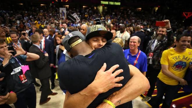 Steph Curry und Kevin Durant schlugen in der Finalserie 2018 gemeinsam die Cavaliers