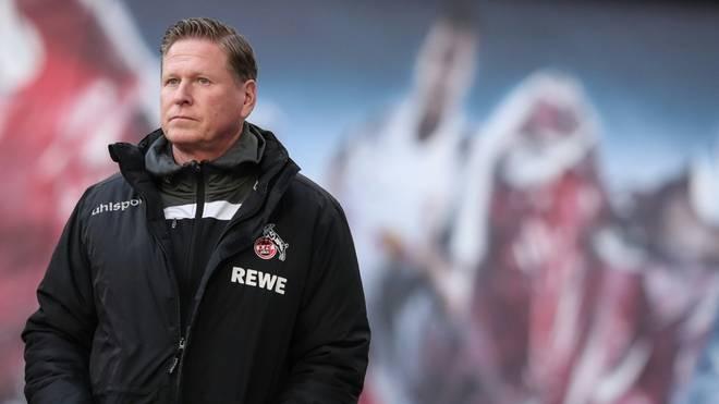 Kölns in Kritik geratener Trainer Markus Gisdol