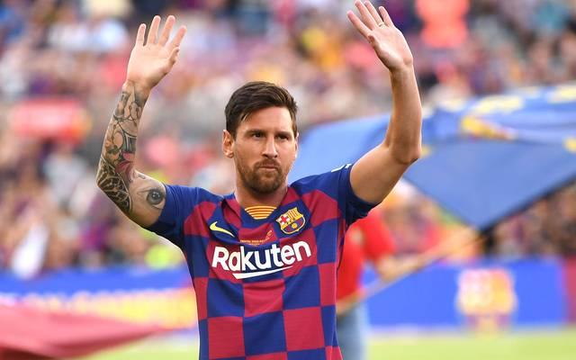 Lionel Messi vom FC Barcelona droht in der Champions League gegen den BVB auszufallen