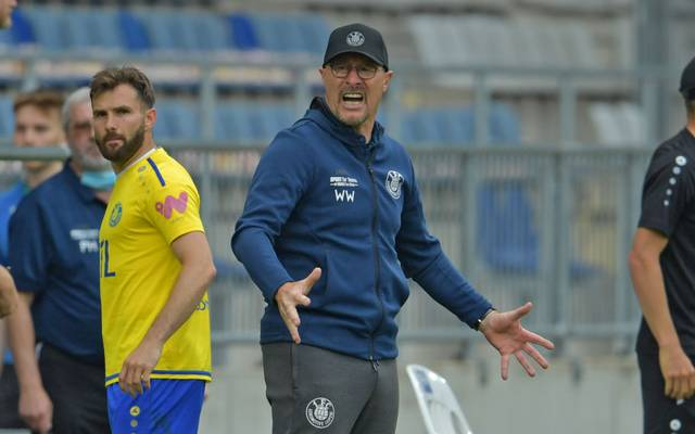 Wolfgang Wolf war Trainer und Sportdirektor bei Lok Leipzig