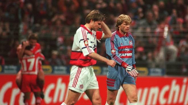 Thomas Helmer (v.l.) machte die Erwartungshaltung beim FC Bayern gehörig zu schaffen