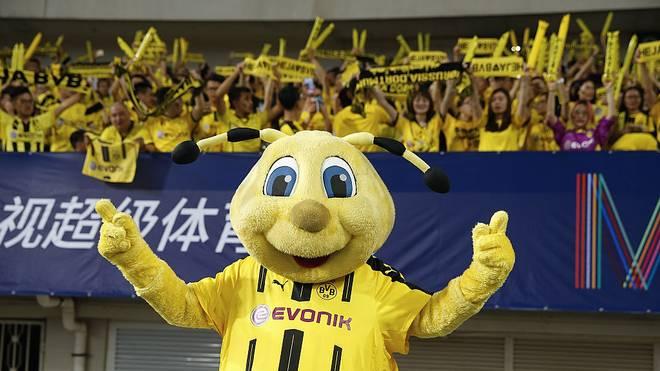 Borussia Dortmund trat 2016 im Rahmen des ICC in Shanghai an