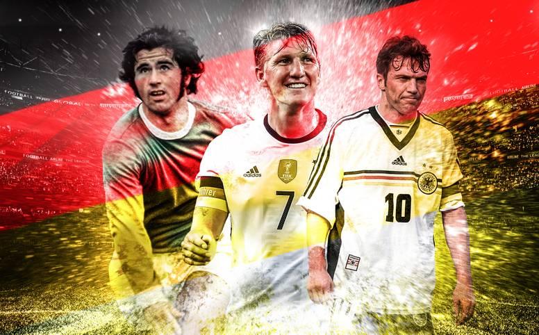 Bastian Schweinsteiger hängt die Fußballschuhe an den Nagel. Seine Karriere in der Nationalelf hat der WM-Held von 2014 bereits 2016 beendet. Mit ihm verabschiedet sich der nächste verdiente Nationalspieler von der großen Bühne. Wer aber war der beste DFB-Kicker der Geschichte? Das SPORT1-Ranking