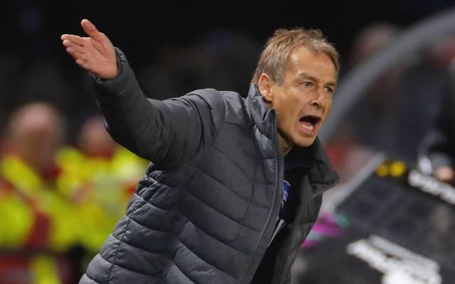 Lange hielt die Zusammenarbeit zwischen Hertha und Jürgen Klinsmann nicht