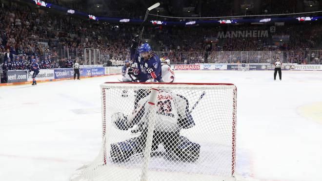 Die Adler Mannheim wollen in der heimischen SAP Arena gegen die Thomas Sabo Ice Tigers nachlegen