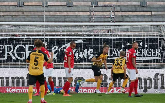 Der 1. FC Kaiserslautern verliert gegen Dynamo Dresden vor heimischer Kulisse