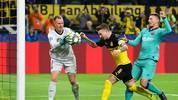 Marc-Andr ´ter Stegen vereitelte beim 0:0 zwischen dem FC Barcelona und dem BVB mehrere Großchancen
