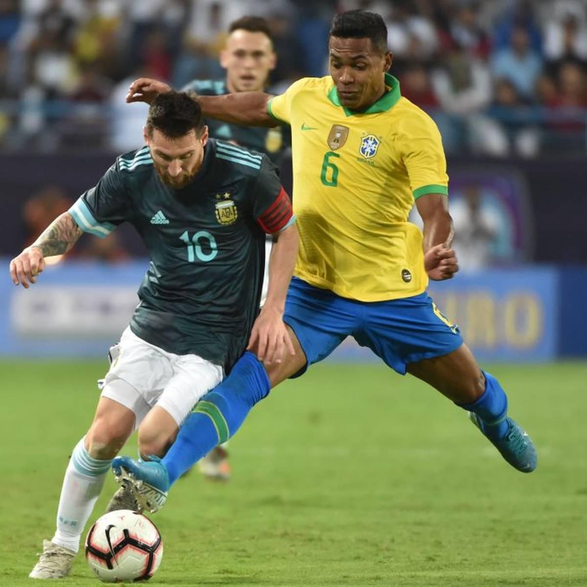 Messi versenkt Brasilien