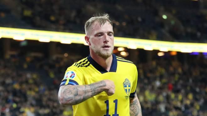 John Guidetti kam in der EM-Qualifikation für Schweden zum Einsatz