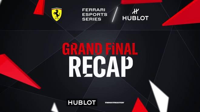 Giovanni de Salvo siegt bei Ferrari Hublot Esports Series