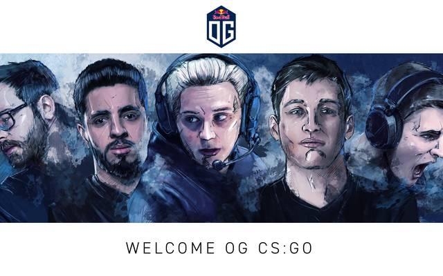 OG geht mit eigenem Team in Counter-Strike: Global Offensive an den Start