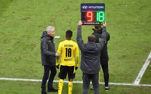 Youssoufa Moukoko feierte gegen die Hertha sein Bundesliga-Debüt