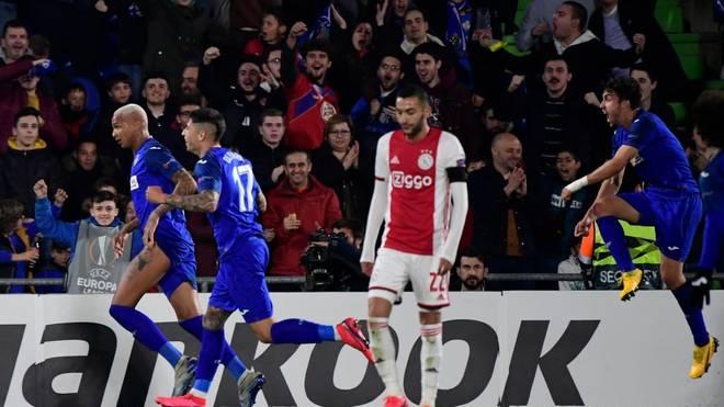 Ajax Amsterdam droht nach der Hinspiel-Niederlage gegen Getafe das Aus in der Europa League