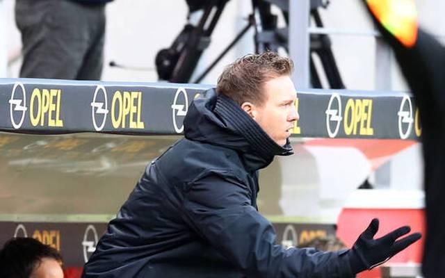 Julian Nagelsmann war nach der 2:3-Pleite in Mainz bedient