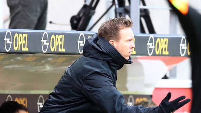 Julian Nagelsmann war nach der 2:3-Pleite in Mainz bedient