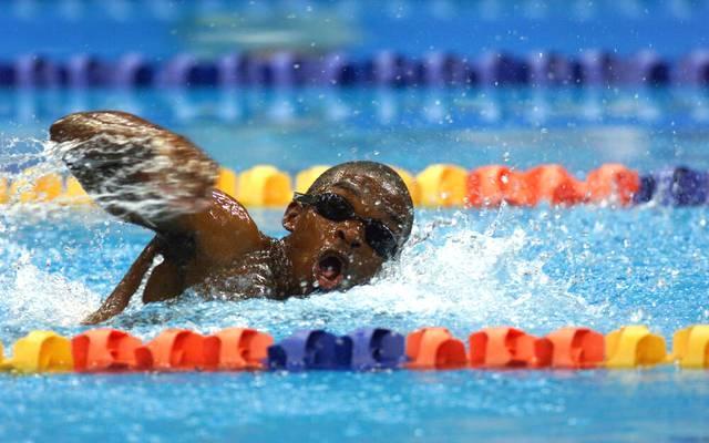 Eric Moussambani konnte sich auf den letzten Metern kaum noch über Wasser halten