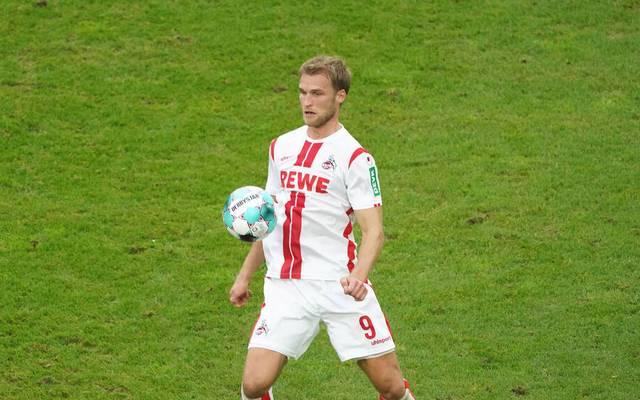 Sebastian Andersson steht in der Startelf des 1. FC Köln