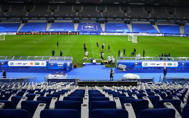 In Frankreichs Stadien sind keine Zuschauer zugelassen