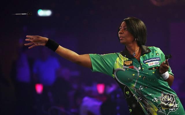 Deta Hedman fing 1987 an, in organisierten Darts-Events in Großbritannien zu spielen
