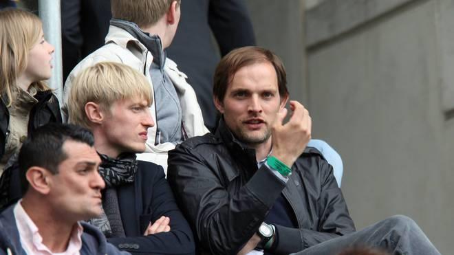Andreas Beck (l.) ist mit Thomas Tuchel befreundet