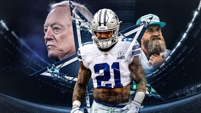 Bei den Dallas Cowboys geht es drunter und drüber