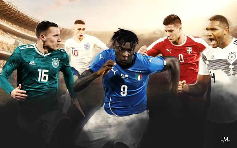 Ab Sonntag kämpfen zwölf Nationen um den Titel der U21-Europameisterschaft in Italien und San Marino (LIVE auf SPORT1). Das Turnier ist ein Sprungbrett für junge Talente und außerdem die ganz große Bühne für die Stars von morgen. SPORT1 zeigt die besten Nachwuchstalente der EM
