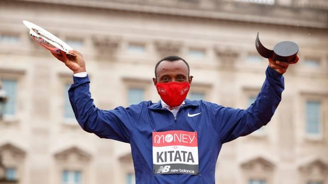 Shura Kitata ist Sieger des London Marathon 2020