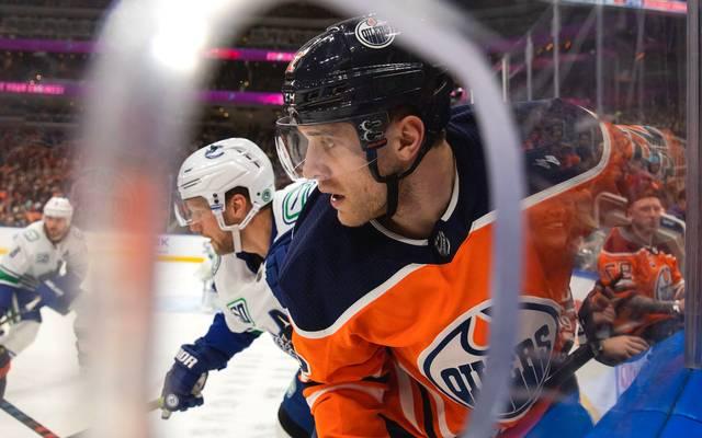 Leon Draisaitl unterlag mit den Edmonton Oilers den Vancouver Canucks