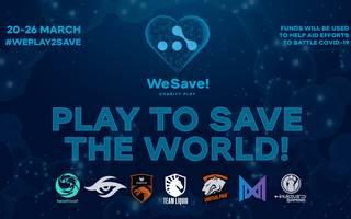 """We Save! Charity Play""-Turnier"