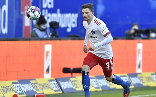 Moritz Heyer spielt beim Hamburger SV