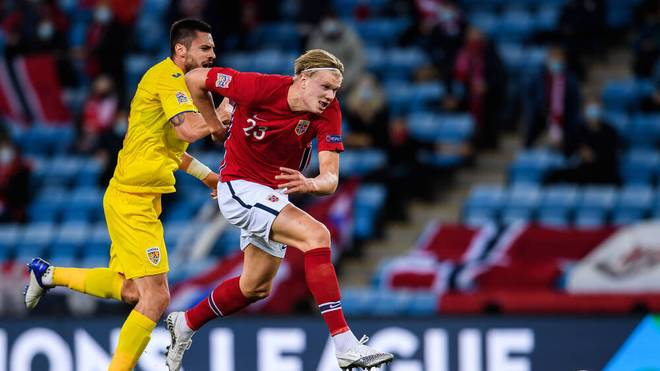 BVB-Star Erling Haaland schießt beim 4:0 gegen Rumänien drei Tore