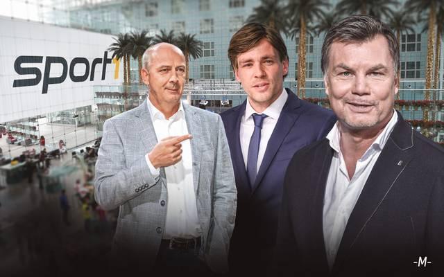 Mario Basler und Clemens Fritz sind zu Gast bei Thomas Helmer