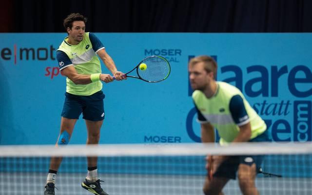 Kevin Krawietz und Andreas Mies scheitern im Halbfinale von Wien