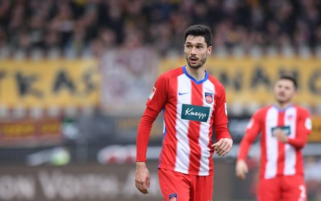 Tim Kleindienst ist mit sieben Saisontoren bester Torjäger des 1. FC Heidenheim
