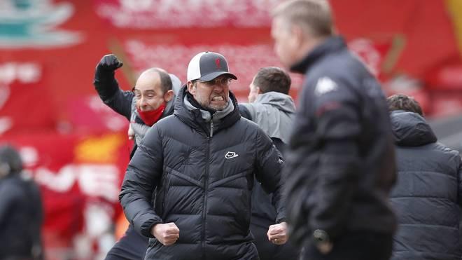 Jürgen Klopp freute sich über den besonderen Sieg