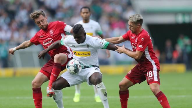 In Düsseldorf erwartet die Fortuna die Borussia zum Derby