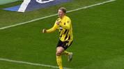 Erling Haaland erzielte gegen Hertha BSC einen Viererpack