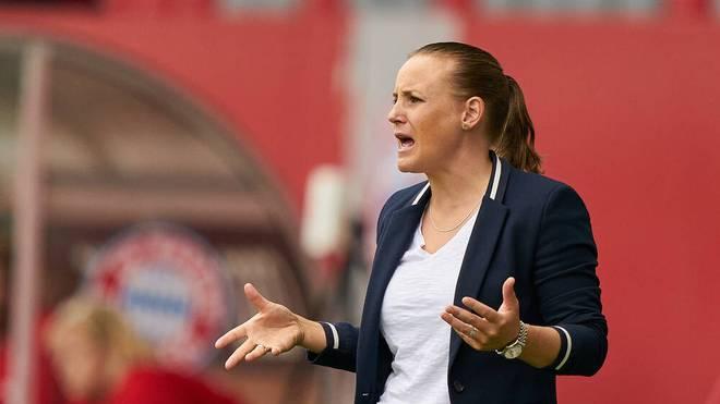 Nora Häuptle ist die einzige Trainerin in der Frauenfußball-Bundesliga