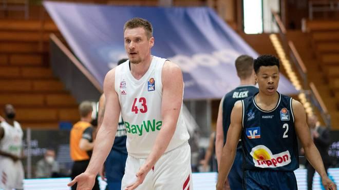Leon Radosevic verlor mit Bayern Spiel drei gegen Crailsheim