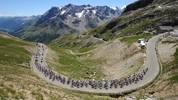 Anstieg nach L'Alpe d'Huez