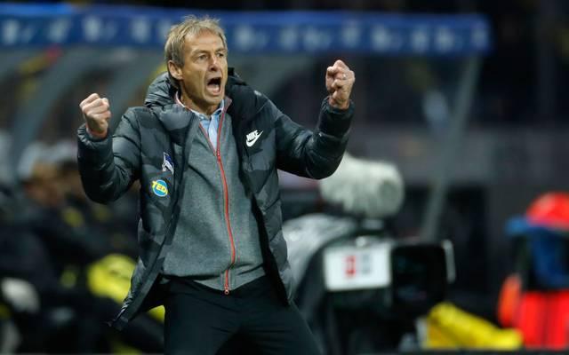 Jürgen Klinsmann wünscht sich Neuzugänge für Hertha BSC
