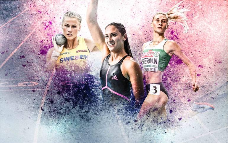 Bei der Leichtathletik-EM und den European Championships tummeln sich nicht nur die besten Sportlerinnen, sondern auch wahre Schönheiten. SPORT1 stellt die attraktivsten Athletinnen vor