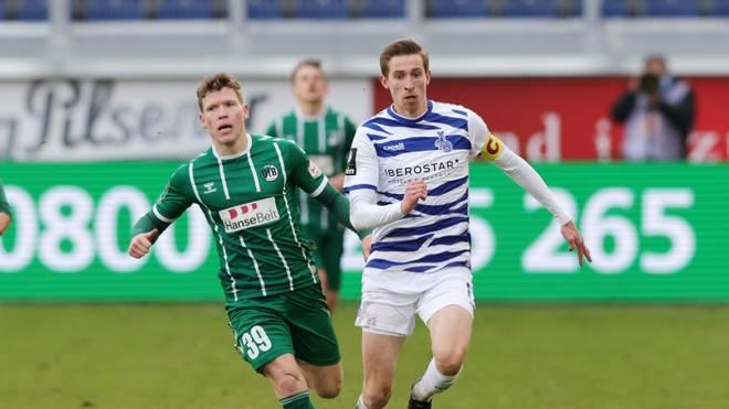 Florian Riedel (l.) wird von Lübeck ausgeschlossen