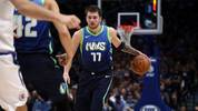 DALLAS, TEXAS - NOVEMBER 26:  Luka Doncic #77 of the Dallas Mavericks at American Airlines Center on November 26, 2019 in Dallas, Texas.  NOTE TO USER: User expressly acknowledges and agrees that, by downloading and or using this photograph, User is consenting to the terms and conditions of the Getty Images License Agreement.  (Photo by Ronald Martinez/Getty Images)