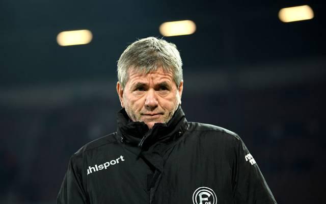Friedhelm Funkel hat seinen Vertrag bei Fortuna Düsseldorf verlängert