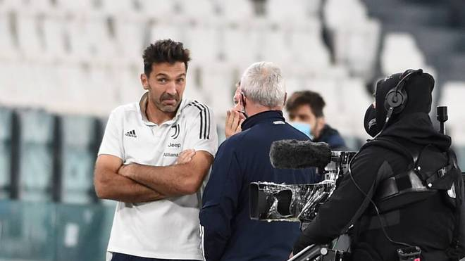 Gianluigi Buffon erlebte mit Juventus Turin einen skurrilen Abend