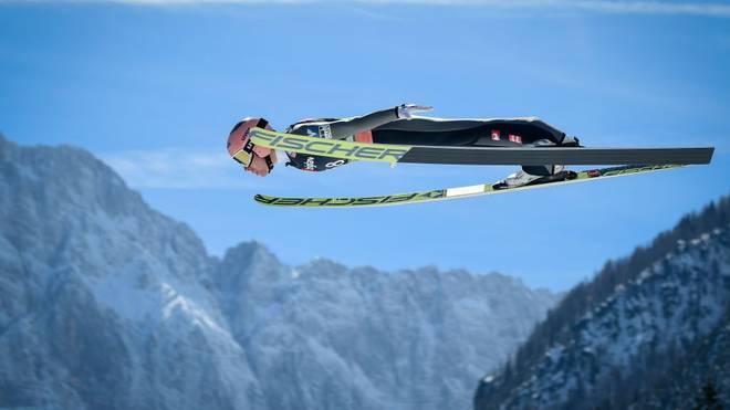 Stefan Kraft hält den Weltrekord im Skifliegen